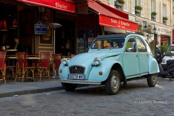 la voiture de Bourvil dans Le Corniaud, de James Bond dans Rien que pour vos yeux, etc.