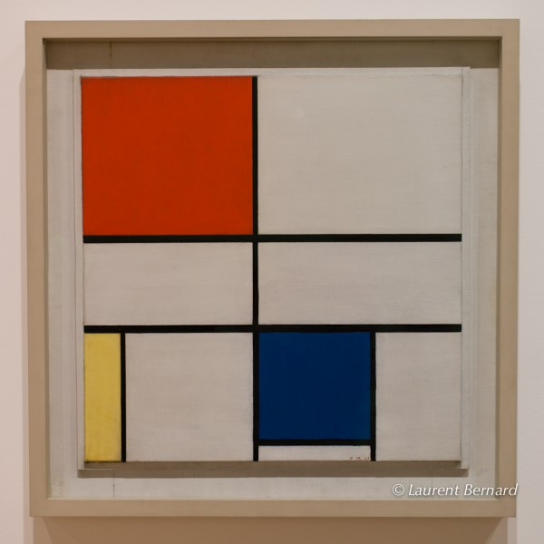 by Mondrian, at the Courtauld Gallery.