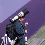 Canon sponsored the Olympic games, and provided official photographers with impressive equipment.