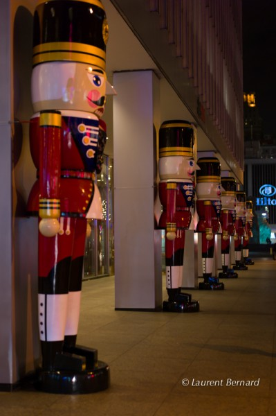 Nutcrackers are also involved in Christmas' magic
