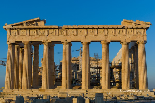 Dawn on Parthenon